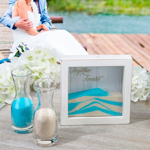 Small Unity Sand Ceremony Frame On Sale At The Wedding Shoppe Canada