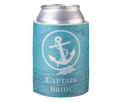 Captain Bride Cup Cozy