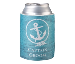 Captain Groom Cup Cozy
