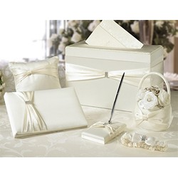 Ivory Sash Wedding Set  (6pcs)