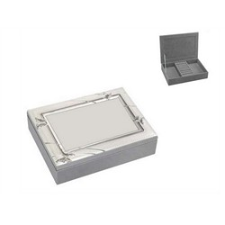 Silver Plated Jewellery Box