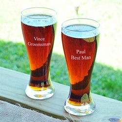 Custom Pilsner Glasses (Set of 2)