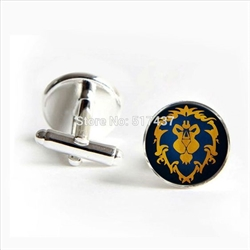 World of Warcraft - Alliance Cufflinks