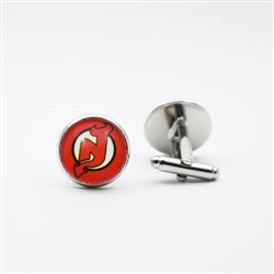 New Jersey Devils Cufflinks