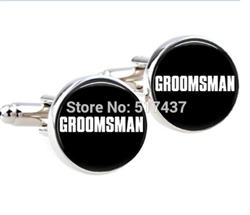 Simple Groomsman Cufflinks