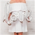 Mylar Foil Letter Balloon Decoration - Cursive Love - Silver