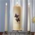 Beautiful Butterflies Personalized Pillar Candle