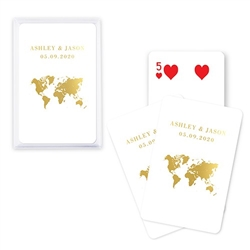 Custom Playing Card Favors - Wanderlust Travel Design