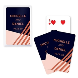 Custom Playing Card Favors - Retro Luxe Design