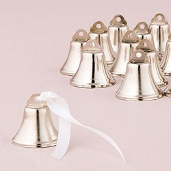 Silver Mini Wedding Bells (Pk of 24)