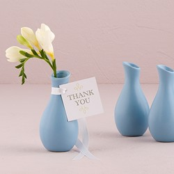 Mini Decorator Favor Vases - Set of 6