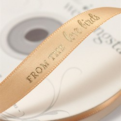 """From the Love Birds"" Ribbon"
