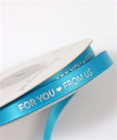 """For You From Us"" Ribbon"