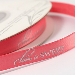 """Love is Sweet"" Ribbon"