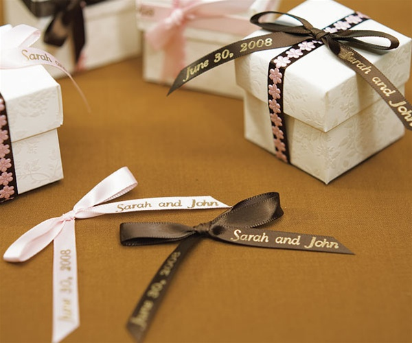 e127cb77baa8 Personalized Ribbon formatted for Bows - ON SALE at The Wedding ...