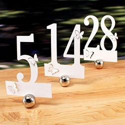 Laser Expressions Butterfly Die Cut Number Set