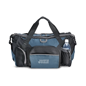Exploration Duffle Bag - Black And Blue