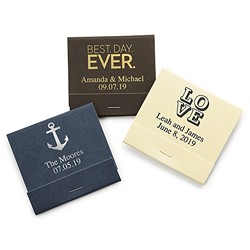 Printed Matchbooks (Set of 50)