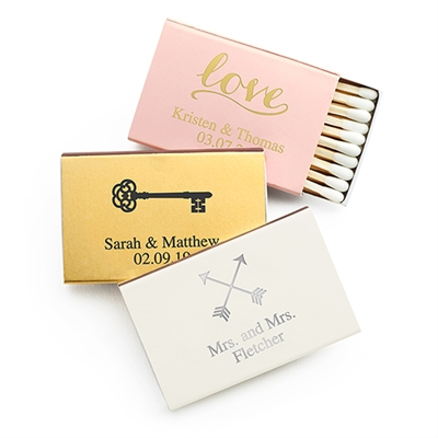 Printed Matchbox (Set of 50)