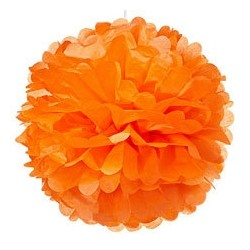 Small Paper Pom Poms (11 Colours Available)