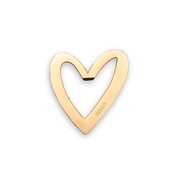 Gold Heart With XO Bottle Opener Favour