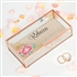 Personalized Glass Jewellery Box - Modern Floral Printing