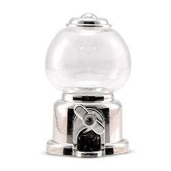 Mini Gumball Machine Party Favour - Silver