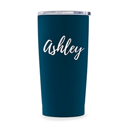 Stainless Steel Travel Mug - Calligraphy Text Printing