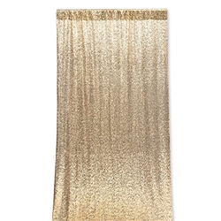 Photo Backdrop Decoration - Gold Sequin