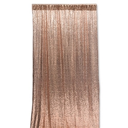 Photo Backdrop Decoration - Rose Gold Sequin