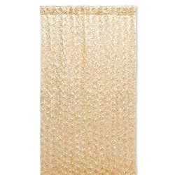 Photo Backdrop Decoration - Gold Satin Flowers