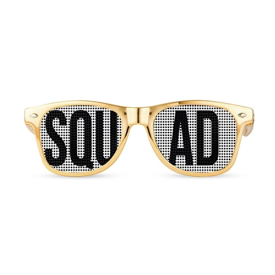 Wedding Party Pinhole Sunglasses - Squad