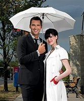 Just Married Wedding Umbrella