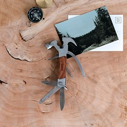 Rose Wood Handle Hammer Multi-tool