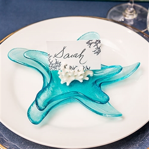 Starfish Glass Candle Holders / Dishes