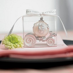 Cinderella Wedding Carriage Candle