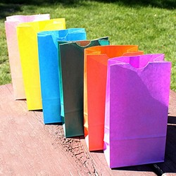 Self-Standing Paper Goodie Bag (Set of 25)