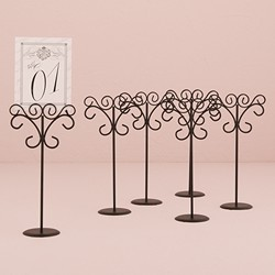 Ornamental Wire Stationery Holders - Tall