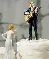 """Love Serenade"" Guitar Playing Groom Figurine"