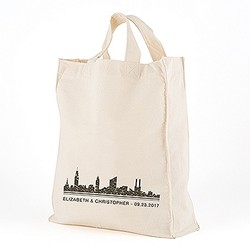 City Style Personalized Tote Bag - Large