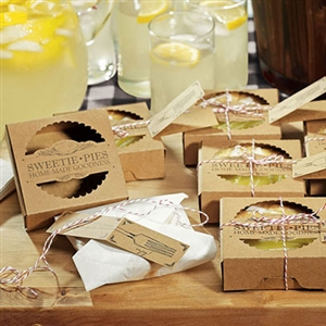 """Sweetie Pies"" Mini Pie Packaging Kits (package of 20)"