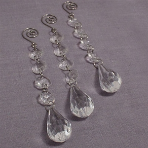 Acrylic Crystal Decorative Drops
