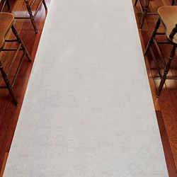 Wedding Aisle Runner - Plain White 33g Non-Woven Fabric
