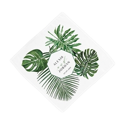 Greenery Personalized Handkerchief