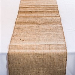 Burlap Table Runner (35.6 cm wide x 2.3m Long)