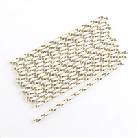 """Sippers"" Polka Dot Metallic Print Paper Straws (package of 75)"