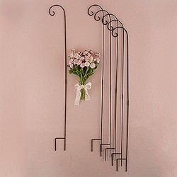 Decorating Metal Shepard Hooks (set of 6)