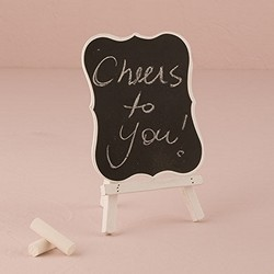 Decorative Chalkboards With White Frame - Medium (set of 4)