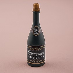 Wedding Bubbles In Champagne Bottle (Package of 24)