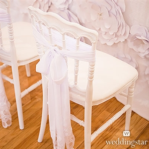 Decorative Chiffon Sash